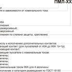 Пускатель ПМЛ, структура условного обозначения (открытое исполнение)