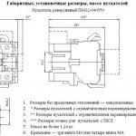 Габариты ПМ12 040550
