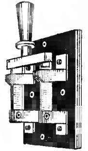 Перекидной рубильник в ящик с рубильником