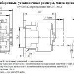 Габариты ПМЛ 4160
