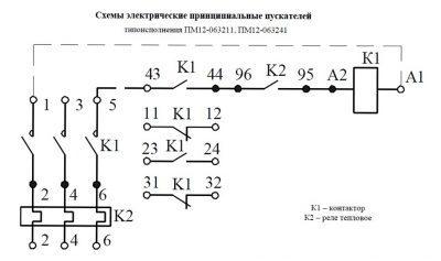 Схема ПМ12 063211, 063241