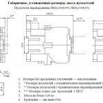Габариты ПМ12 040150, 040151