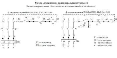 Схема ПМ12 025210, 025240, 025220, 025260