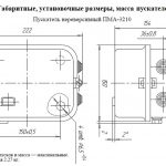 Габариты ПМА 3210