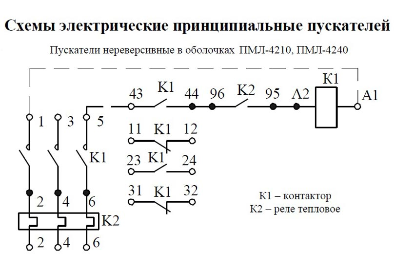 Схема ПМЛ 4210, 4240